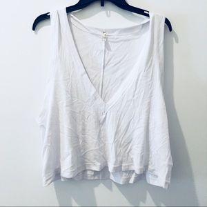 NWT Free People V- Neck Crop Top